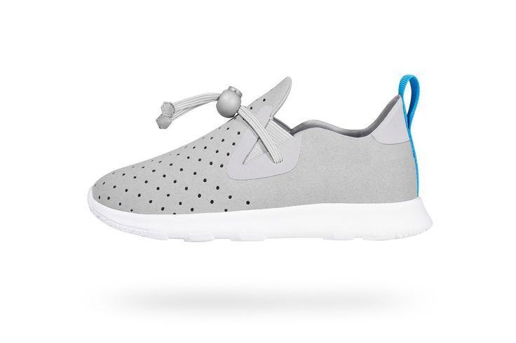 $50 Water shoe. Apollo moc child - Pigeon Grey / Shell White   Native Shoes — Keep it Lite