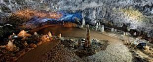 Interior de la cueva El Soplao. Cantabria © Turismo de Cantabria