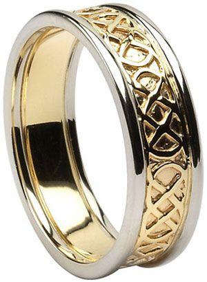 41 best Celtic Knot Wedding Rings images on Pinterest | Wedding ...