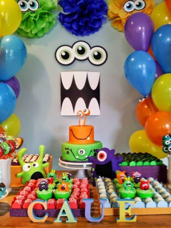 35 ideias de decor para festa de menino sem usar personagens – Mães Não Dormem