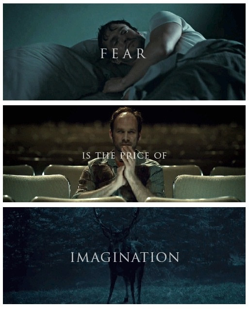 Fear is the price of imagination . . . (http://iheartardis.tumblr.com/)