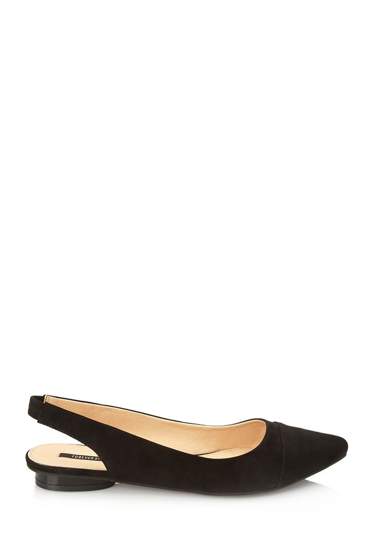 Pointed Slingback Flats - Womens shoes and boots