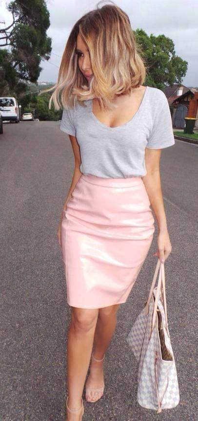 Outfits en color rosa cuarzo