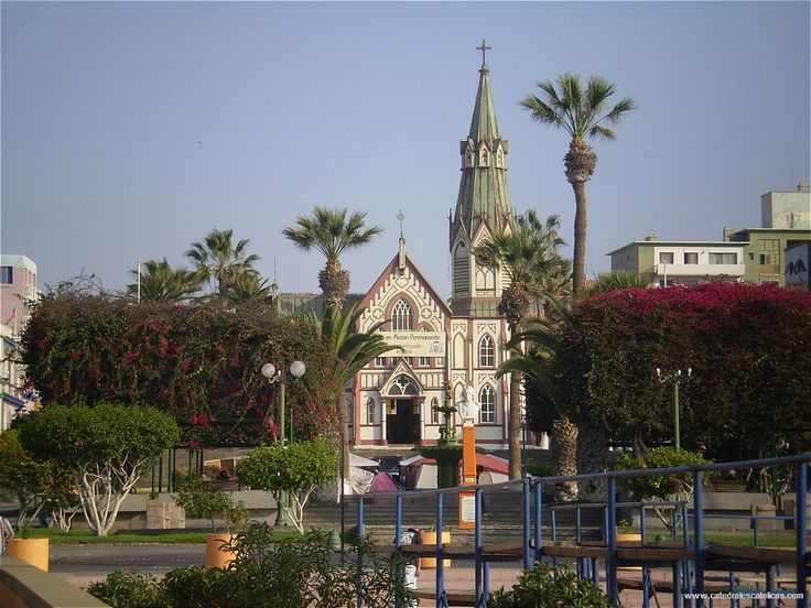 Cathedral of San Marcos, Arica Chile