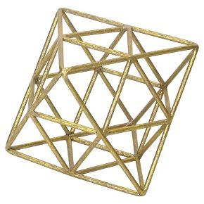 Geo Figural Small Gold - Room Essentials™