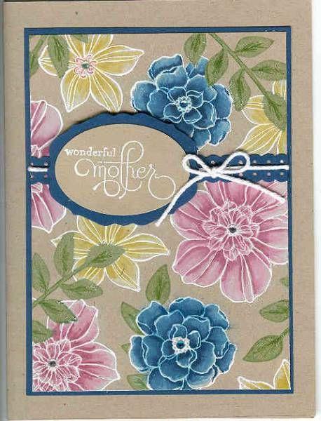 Beautiful card! Secret Garden