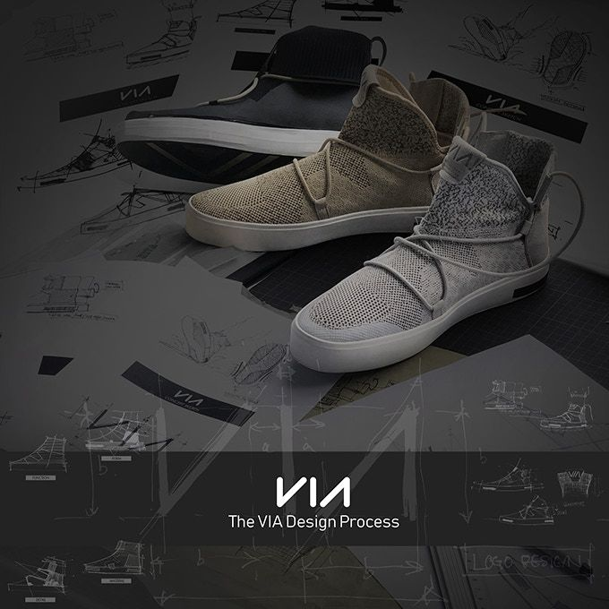 VIA | The Waterproof Knit Shoes Made from Ocean Plastic by