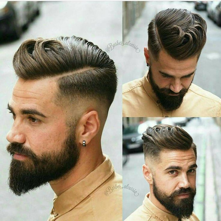 25 best ideas about Mens hairstyles with beard on Pinterest