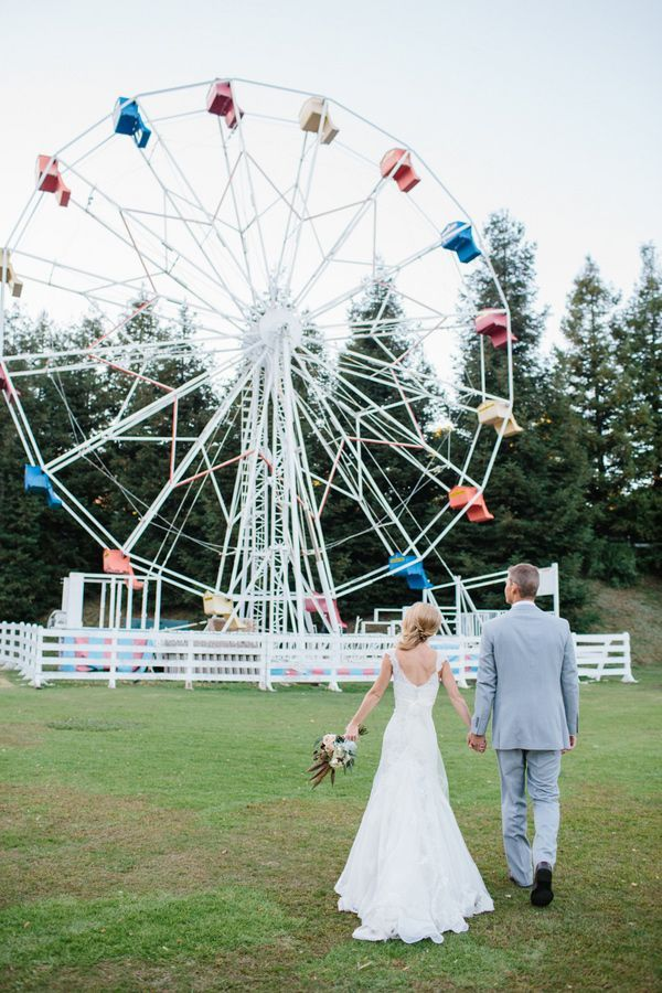 carnival rides/games | Unconventional But Totally Awesome Wedding Ideas - Wedding Party