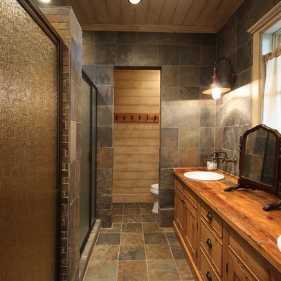 256 best images about creative tile ideas on pinterest for Rustic tile bathroom ideas