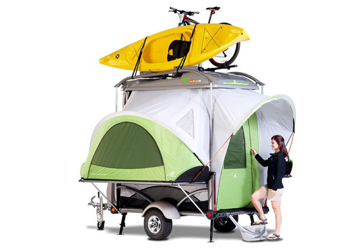 The GO Pop Up Camper Is Perfect For Your 'Into The Wild' Excursions