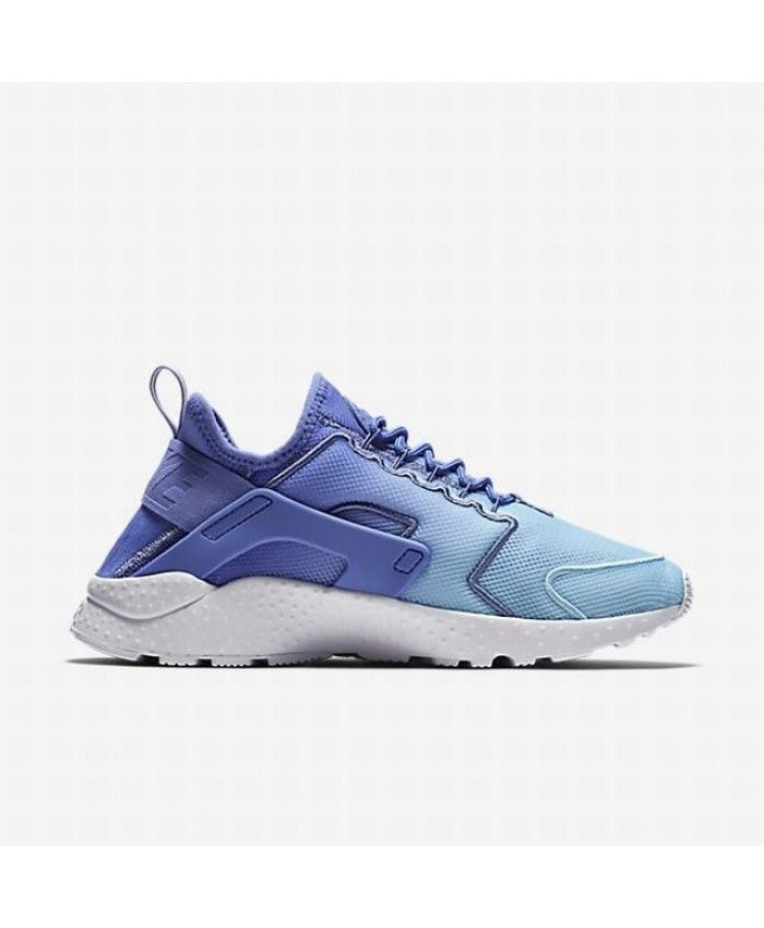 sports shoes b8622 007db Nike Air Huarache Ultra Breathe Blue White Trainers
