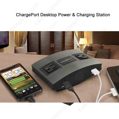 Teleadapt Chargeport Desktop Power And Charging Station