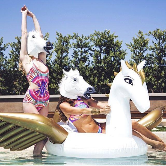 Coachella Style: The Pegasus Pool Float