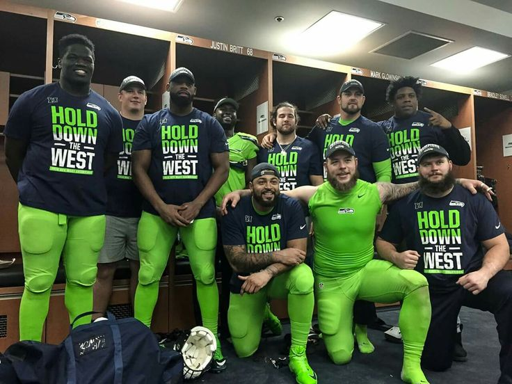 This is what the NFC West Champions look like
