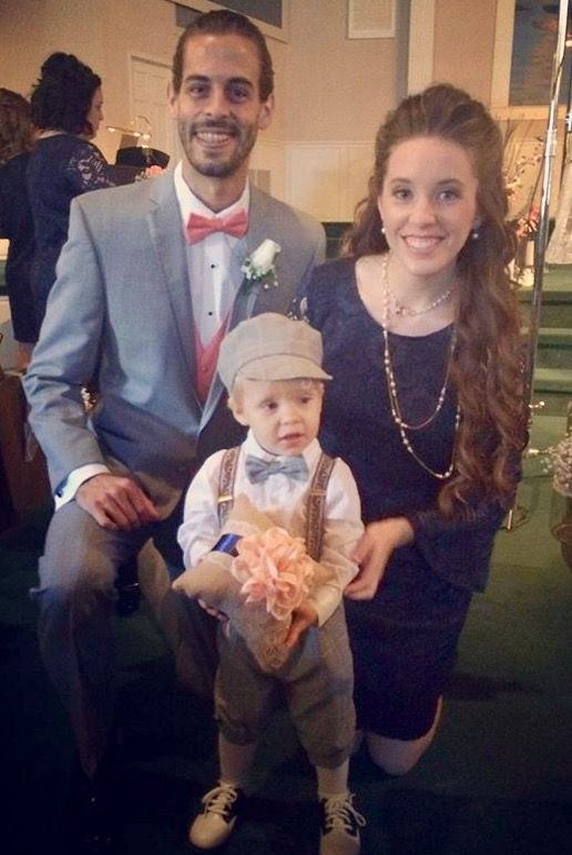 the Dillard family! Derick With his wife Jill and son Israel at Jeremy & Jinger Vuolo wedding