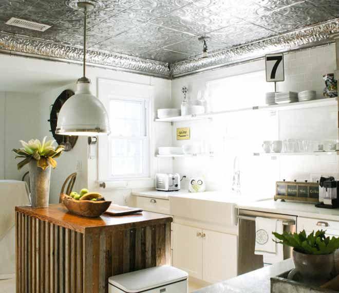 17 mejores ideas sobre techo de cocina de estaño en pinterest ...