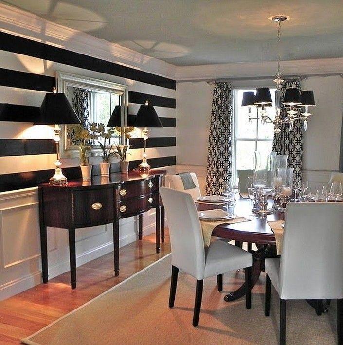 Minimalist Furniture Tips Ideas, White And Black Dining Room