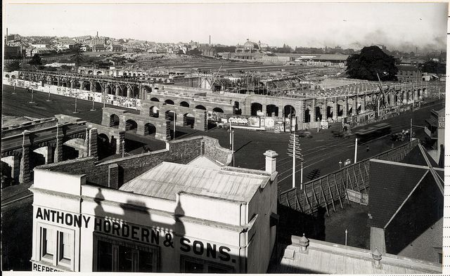 building Sydney's Central Station 1903, State Records collection
