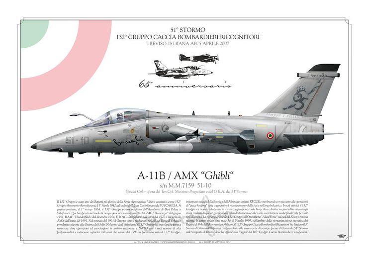 AMX Ghibli 51° Stormo 65° anniversario 132° Gruppo