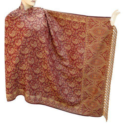 Jamawar Cotton Shawl Handmade Bestselling Shawls From India - sshwl0053rr Royal Kraft. $65.00. Save 30% Off!