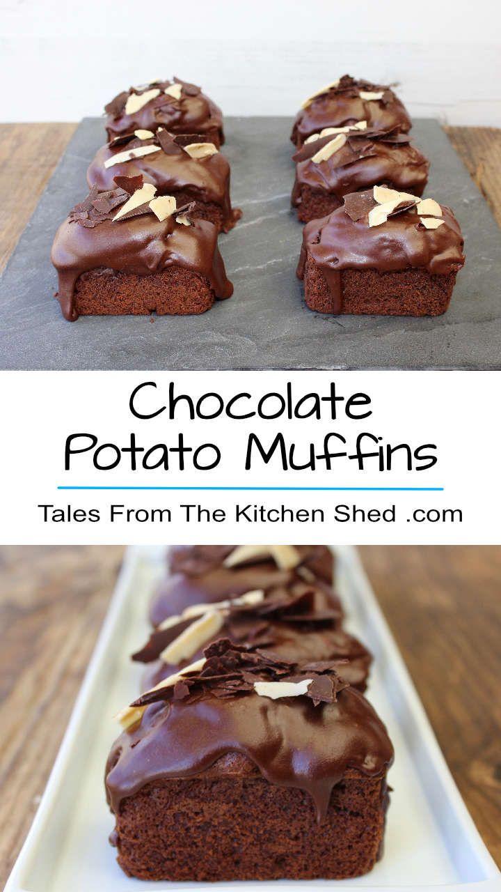 Chocolate Potato Muffins