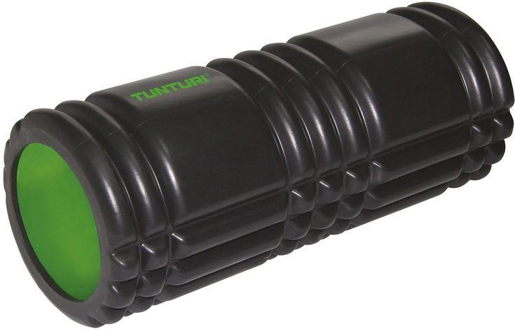 Tunturi foam roller pro 61cm  Description: DeTunturi Yoga Foam Grid Rolleris een speciale foam roller. Door de geribbelde textuur wordt de massage intensiever. Een normale foam roller voelt als een rubberen cilinder maar de Tunturi Yoga Foam Grid Roller voelt ook als een massage. En dit verschil merk je ook in je lichaam. Het oppervlak van de yoga foam grid roller geeft een extra stimulans aan je bloedsomloop. Een foam roller is een goed hulpmiddel voor massage oefeningen en een goede…