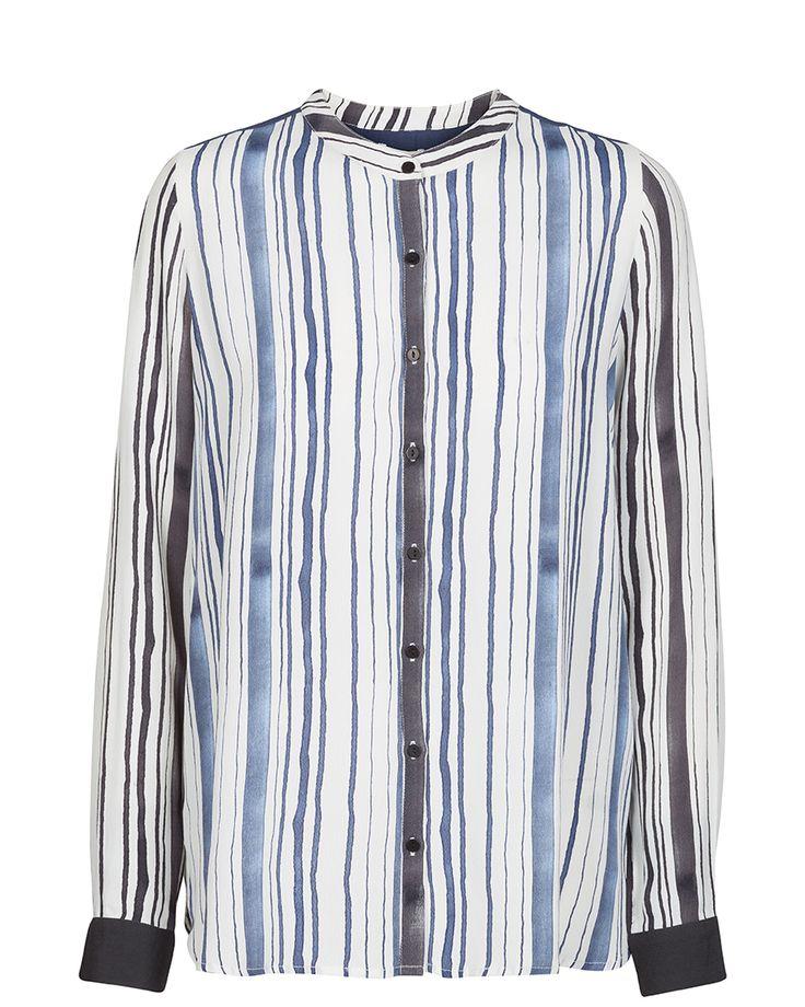 MOS MOSH // Key Stripe Shirt