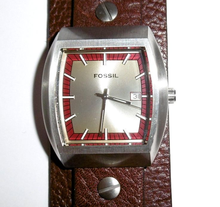 how to change square fossil watch battery