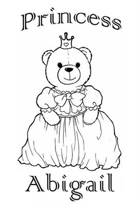 printable Abigail coloring pages