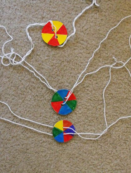Third Grade Science Activities: Spinning Color Wheel