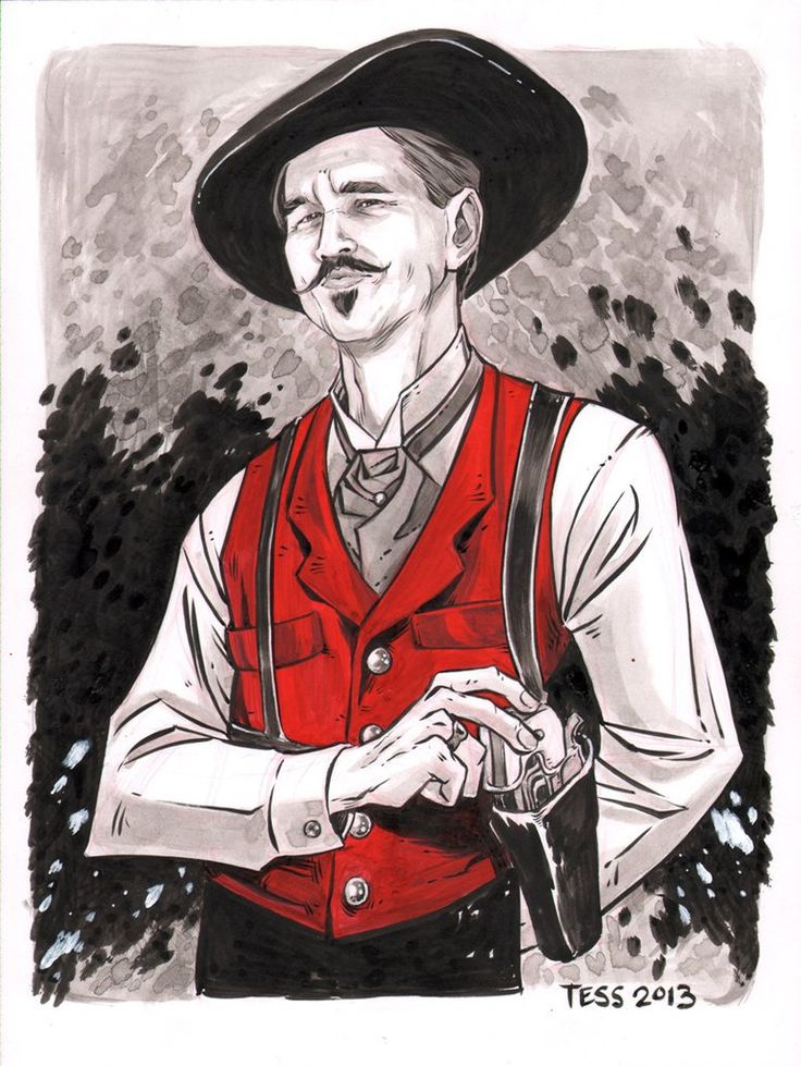 Doc Holliday - Tombstone - Tess Fowler