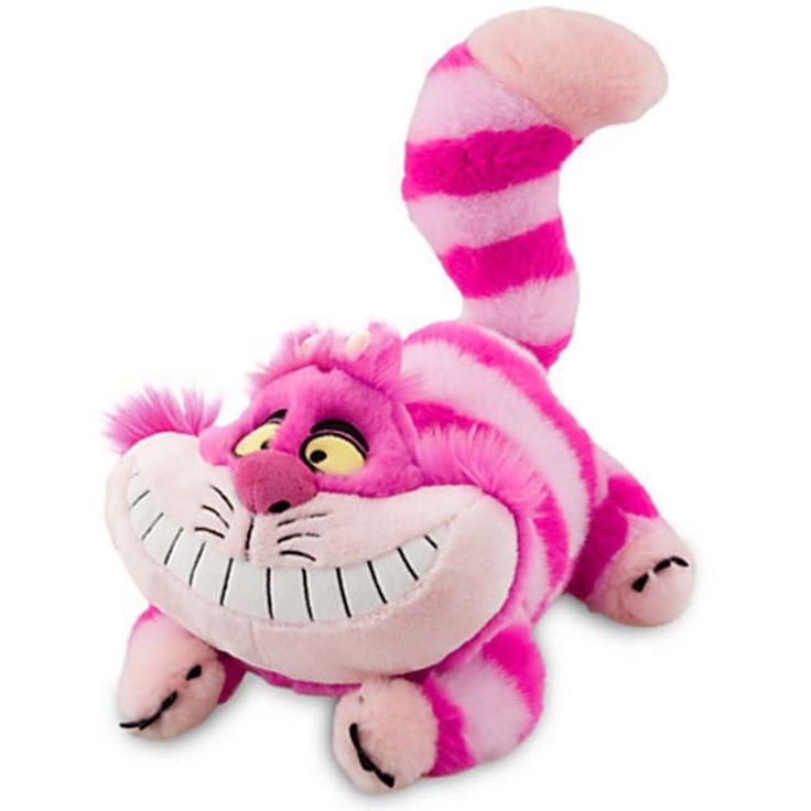 Disney Plüsch Alice im Wunderland Cheshire Cat Katze Kuscheltier Grinsekatze NEU