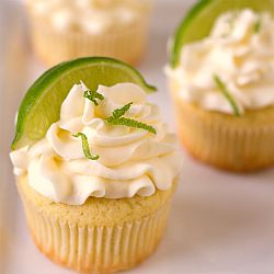 Margarita Cupcakes - They are definitely not innocent. They are all things tequila and lime. The cupcakes are buttery and moist. The frosting is velvety and buttery (more butter!). And there is a prevalent lime/tequila taste throughout. If you like margaritas (or just boozy cupcakes), you will fall in love with these babies. And they're perfect for toting along to picnics and cook-outs all summer long!