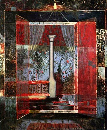 "Horia Bernea painter: ""I felt I had to confess the faith, towers, cross pin banners and light"" and sculptor Ion Irimescu: ""Time slips hourglass"""
