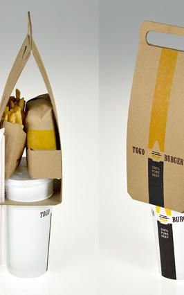 This New Fast Food Packaging System Makes Eating Junk Easier--But Also Less Wasteful