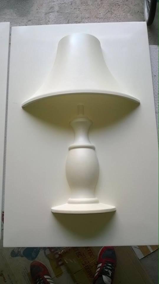 Lampada a muro rifinita in gesso Glamp www.bragliacontract.com