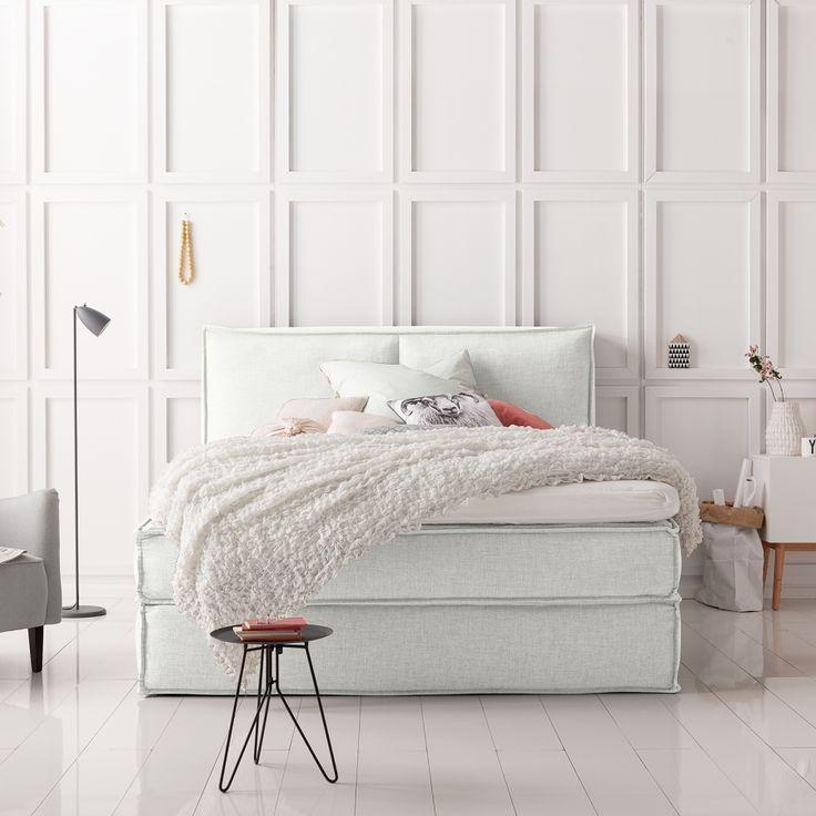 1000 id es sur le th me lit capitonn sur pinterest for Chambres a coucher modernes simples