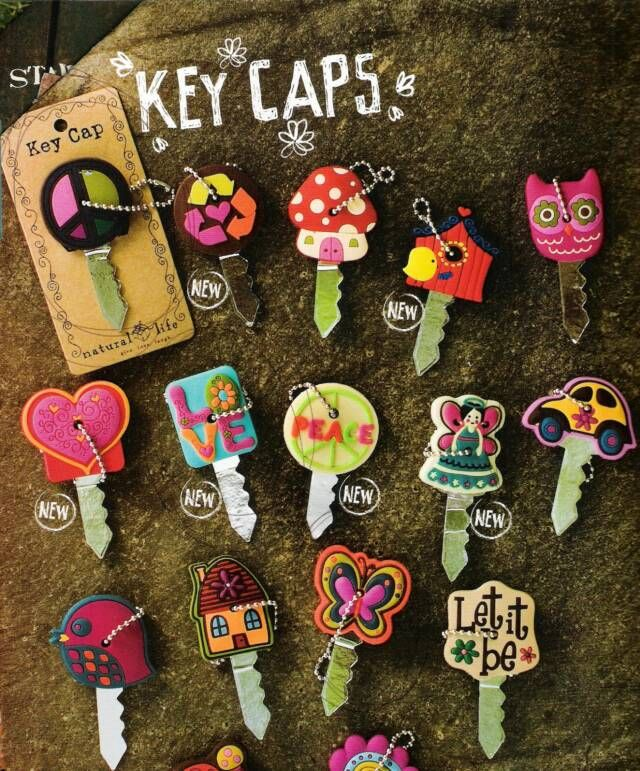 Key Covers, for those who desire style for their wheels and keys!