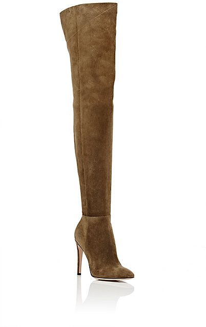 Gianvito Rossi Dree Cuissard Boots - Boots - 504503182
