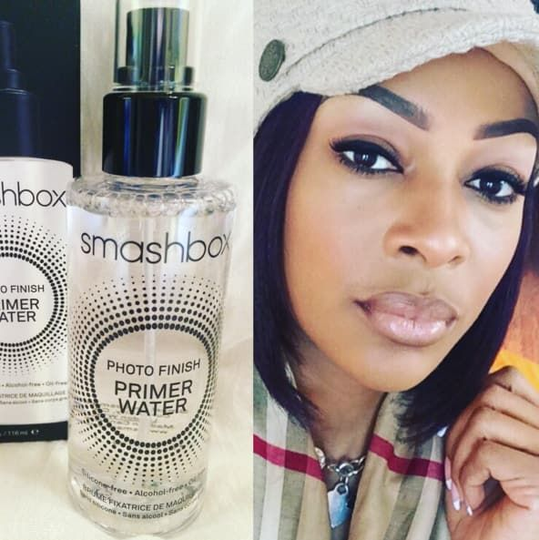 """Smashbox Primer Water. I actually look forward to spraying it on every morning. It's so refreshing! It's the only primer I use now and it works as an incredible refresh spray, which is great for going out after work without reapplying your whole face."" —Brooke Keane, Facebook"