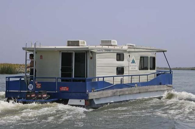 Information about California Delta houseboat rental, including rental companies, costs and more
