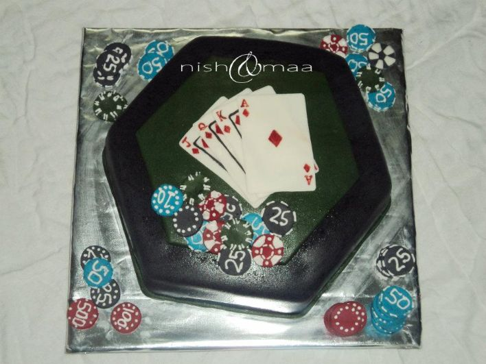 For all the poker lovers! http://www.profiletree.com/nish-and-maa #cake, #decoratedcake, #wedding, #engagement, #party, yummy, #food, #bake, #creative, #anniversary, #graduation , #flavor, #chocolate, #vanilla, #strawberry,