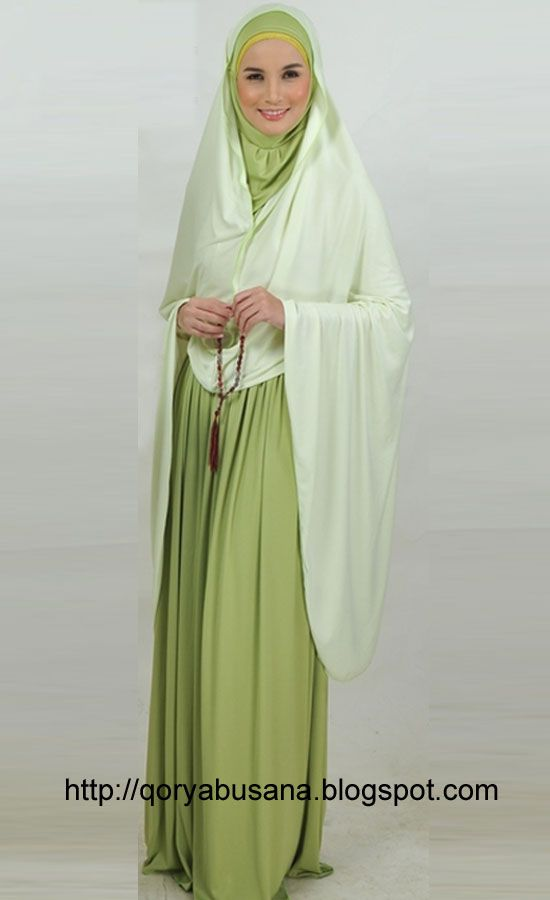 Pray Dress Muslim - Maryam mukena made ​​of materials Hyget Super