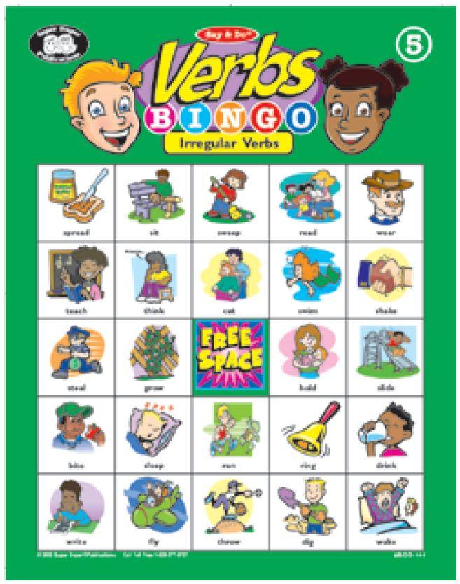 english language Bingo Cards - Make Custom Printable Bingo ...