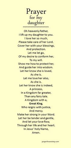 a mother's prayer for her daughter catholic - Google Search