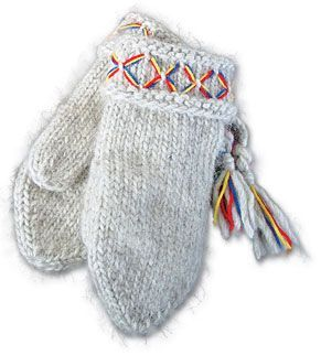 I own these mittens---and have owned the same pair since high school, which is testament to the quality. They are the warmest mittens you can buy, and hand-knit of 100% wool in Sweden. I guard them against loss as much as my wallet.