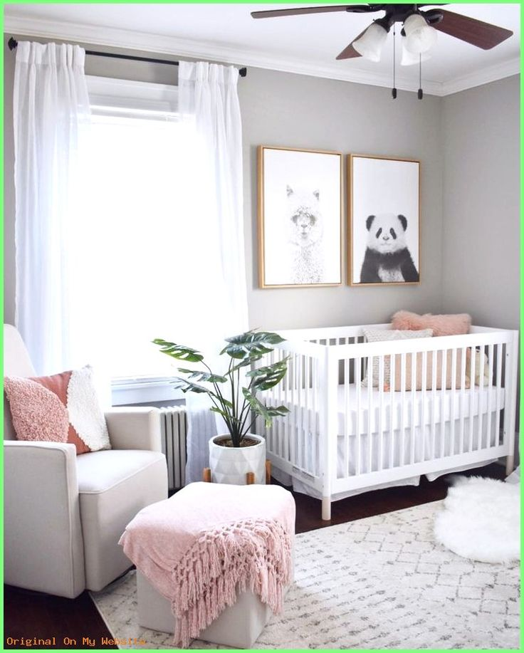 Baby Kinderzimmer Mädchen - Ideen und Inspirationen für ...
