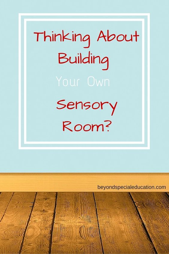 Thinking about building your own sensory room is a great step towards helping your child with sensory integration issues and sensory processing disorders.