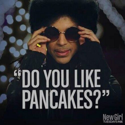 Prince...on New Girl...also Dave Chappell joke